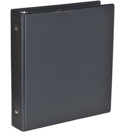 Kangaro ringband zwart Kangaro A5 PVC 17-rings 19mm O-mechaniek