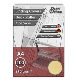 ProfiOffice schutbladen ProfiOffice A4 270gr. karton 100 stuks leer geel