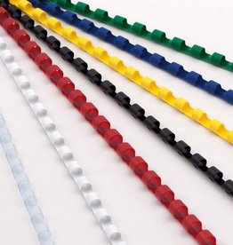 ProfiOffice ProfiOffice bindruggen 21 rings 100 stuks 6mm geel