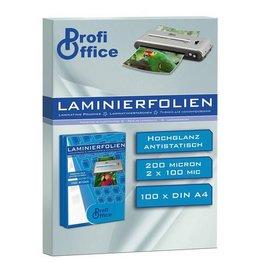 ProfiOffice lamineerhoes ProfiOffice 100 micron 100 vel A4 216x303mm