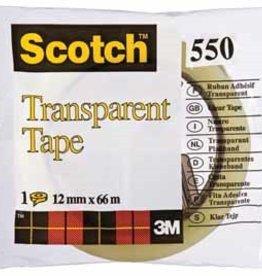 Scotch Scotch® Plakband 550 12MMX66M