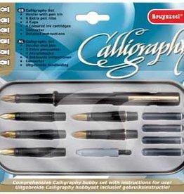 Bruynzeel Bruynzeel Kalligrafieset  luxe kalligrafieset, 14-DELIG