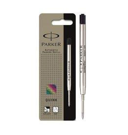 Parker Parker vullingen voor balpen Quinkflow, fijne punt 0,8 mm, zwart.