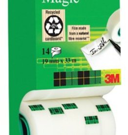 Scotch Scotch plakband Scotch® Magic™ Tape 19MMX33M