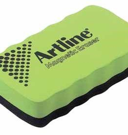 Artline Artline magnetische bordenwisser voor whiteboards  Geassorteerde kleuren: blauw, geel, rood en groen.