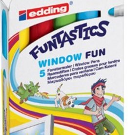 Edding Edding Window Marker Funtastics 16  SET 5X