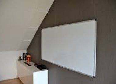 white- kurk- glas- en magneetboards + toebehoren