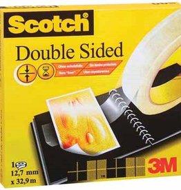 Scotch Scotch® dubbelzijdige plakband 12MMX33M