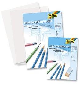Folia Folia A3 transparant papier 80 grams blok 25 vel