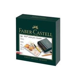 Faber Castell Faber Castell Pitt Artist 24-delig Studiobox Pen Brush