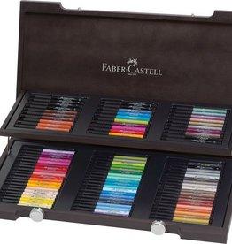 Faber Castell Faber Castell Pitt Artist Pen houten koffer, 90-delig