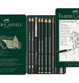 Faber Castell Faber Castell Pitt grafietset 11-delig