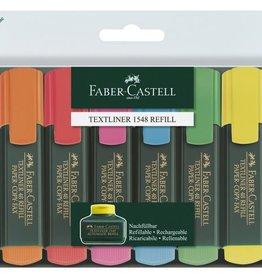 Faber Castell Faber Castell 48 promoset 6 fluorkleuren +2 gratis teskt markers