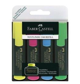 Faber Castell Faber Castell 48 4-delig etui tekstmarkers