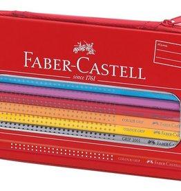 Faber Castell Faber Castell GRIP gevuld etui 16 kleurpotloden