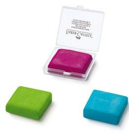 Faber Castell Faber Castell 3 kleuren assorti kneedgum FC 7020