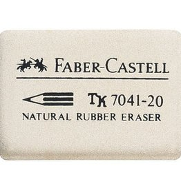 Faber Castell Faber Castell 7041-20 natuurrubber gum