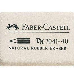 Faber Castell Faber Castell 7041-40 natuurrubber 34x26x8mm gum