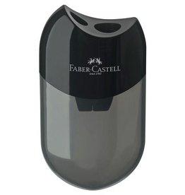 Faber Castell Faber Castell met afvalkoker zwart puntenslijper