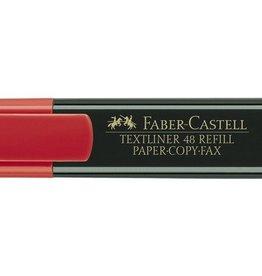Faber Castell Faber Castell 48 rood tekstmarker
