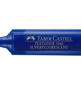 Faber Castell Faber Castell 1546 blauw tekstmarker