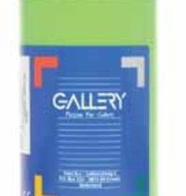 Gallery Gallery plakkaatverf, flacon van 1 l, lichtgroen