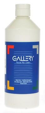 Gallery Gallery plakkaatverf, flacon van 500 ml, wit