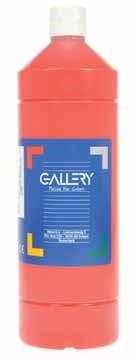 Gallery Gallery plakkaatverf, flacon van 1 l, lichtrood