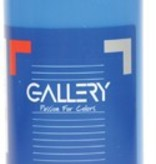 Gallery Gallery plakkaatverf, flacon van 500 ml, blauw