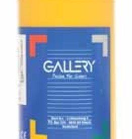 Gallery Gallery plakkaatverf, flacon van 1 l, donkergeel