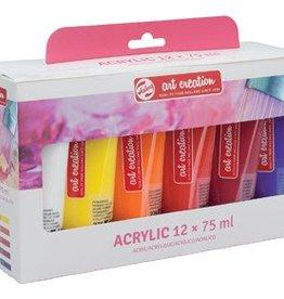Talens Talens acrylverf ArtCreation Essentials set van 12 tubes in geassorteerde kleuren