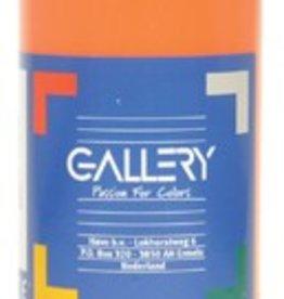 Gallery Gallery plakkaatverf, flacon van 500 ml, oranje