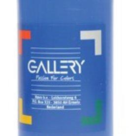 Gallery Gallery plakkaatverf, flacon van 500 ml, donkerblauw