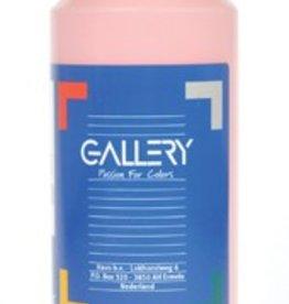 Gallery Gallery plakkaatverf, flacon van 500 ml, roze