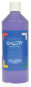 Gallery Gallery plakkaatverf, flacon van 500 ml, paars