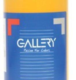 Gallery Gallery plakkaatverf, flacon van 500 ml, donkergeel