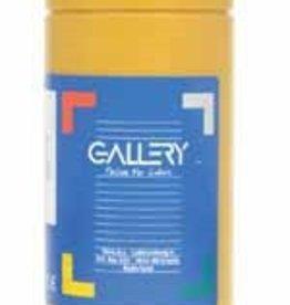 Gallery Gallery plakkaatverf, flacon van 1 l, oker