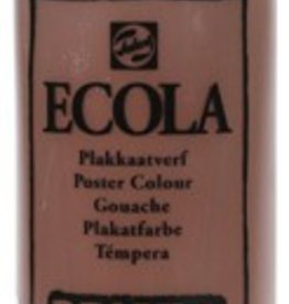Talens Talens Plakkaatverf Ecola flacon van 500 ml, bruin