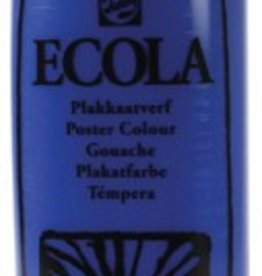 Talens Talens Plakkaatverf Ecola flacon van 1.000 ml, donkerblauw