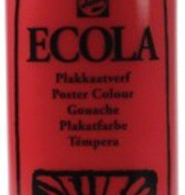 Talens Talens Plakkaatverf Ecola flacon van 1.000 ml, scharlakenrood