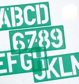 Linex Linex lettersjabloon van 50 mm