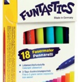 Edding Edding Viltstift e-15 Funtastics 18 stiften