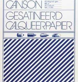 Canson Canson kalkpapier ft 29,7 x 42 cm (A3), etui van 10 blad