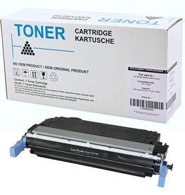 Hewlett-Packerd NuOffice HP 124A Q6000A, Canon 707K zwart Remanufactured toner
