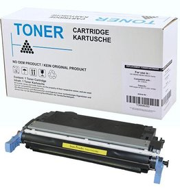 Hewlett-Packerd NuOffice HP 124A Q6002A, Canon 707Y geel Remanufactured toner