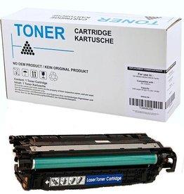 Hewlett-Packerd NuOffice HP 504A CE251A, Canon 723 cyan Compatible toner