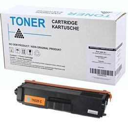 Brother NuOffice Brother TN-320C TN325C cyan Compatible toner