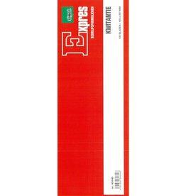 Sigel Sigel Expres kwitantieboekje 105x297mm blok a 100 blad
