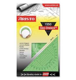Aristo Aristo geodriehoek 16 cm flexibel groen