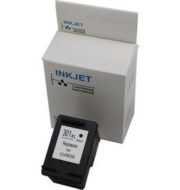 Hewlett-Packerd NuOffice HP 301 XL Black Remanufactured